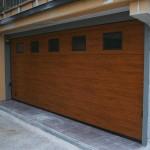 Porte sezionali ad uso civile