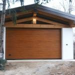 Porta sezionale legno